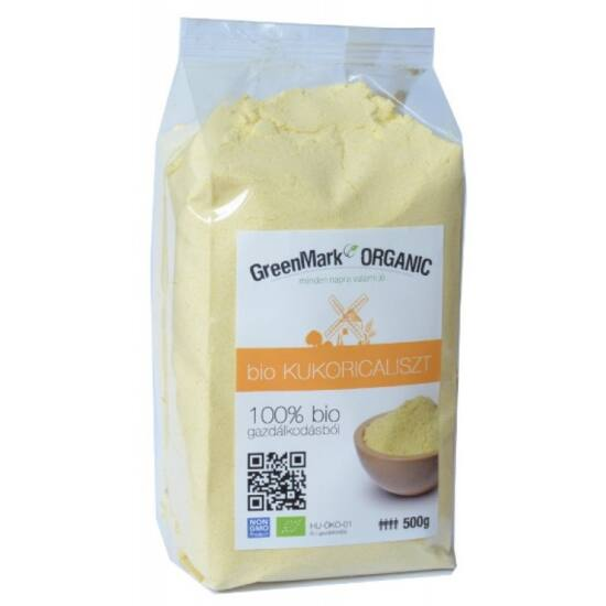 Greenmark bio kukoricaliszt 500 g