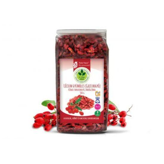 Dr. Natur étkek, Lícium gyümölcs (Lycium Barbarum, Goji bogyó) Fiatalság, erőnlét, karcsúság! 300g