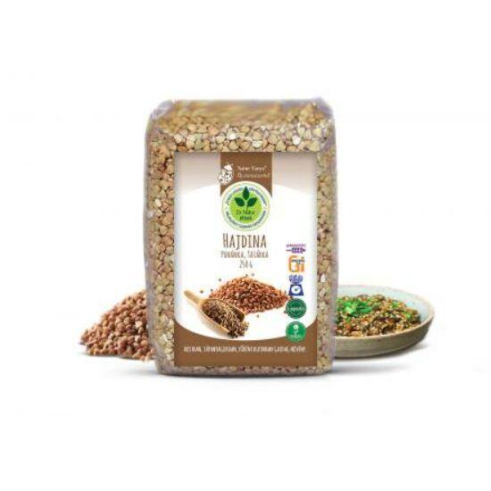 Dr. Natur étkek, Hajdina. Rostban, tápanyagokban, rutinban gazdag növény. Gluténmentes, alacsony GI, 500g