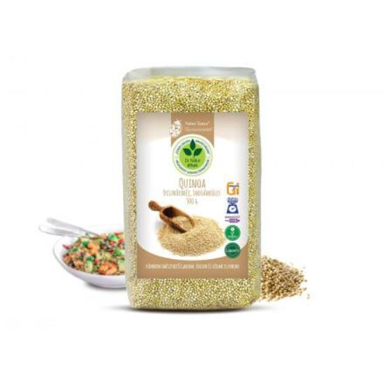 Dr. Natur étkek, Quinoa (Indiánköles). Könnyen emészthető. Édesen és sósan is finom! 500g
