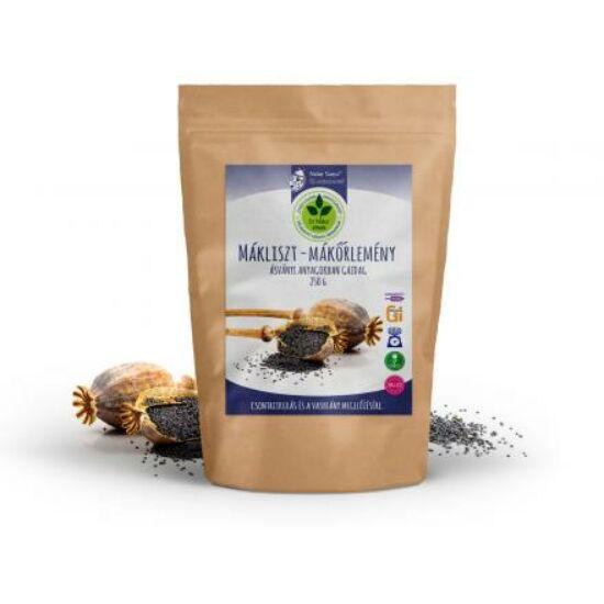 Dr. Natur étkek, Mákliszt – Mákőrlemény, Ásványi anyagokban gazdag, alacsony szénhidrát tartalmú 250 g