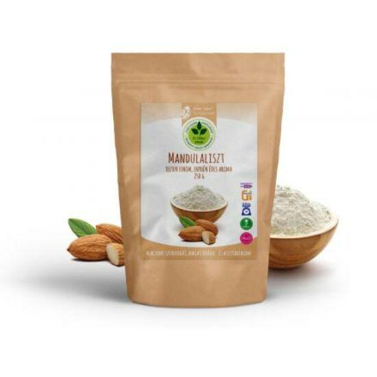 Dr. Natur étkek, Mandulaliszt - Enyhén édes aromájú lisztpótló, sütéshez, főzéshez vagy akár sűrítésre.  250g