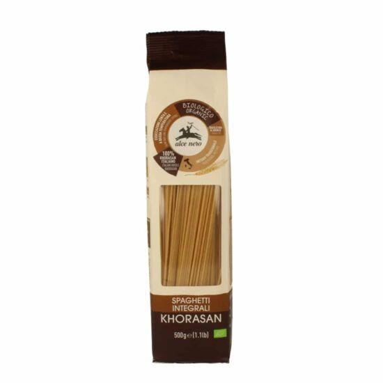 Alce Nero BIO Teljes kiőrlésű khorasan spagetti 500g
