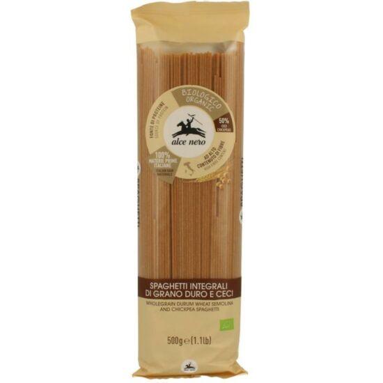 Alce Nero Bio Teljes kiőrlésű spagetti csicseriborsóval 500g