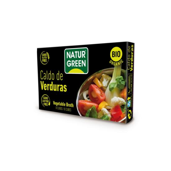 NaturGreen Bio Zöldségleveskocka 84 g