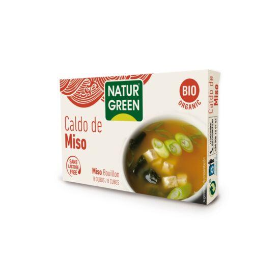 NaturGreen Bio Miso leveskocka 84 g