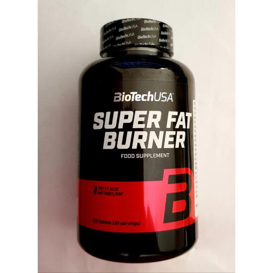 BioTech Super Fat Burner 120 tabletta