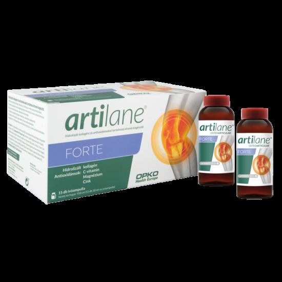 Artilane FORTE Hidrolizált kollagént és antioxidánsokat tartalmazó ivóampulla, 15 db