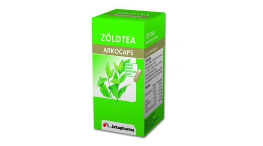 Zöld tea kapszula 45 db, Arkocaps - Fogyás - Arkocaps..