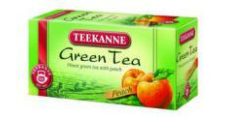 Teekanne zöld tea őszibarackkal 20 filter - Biosziget